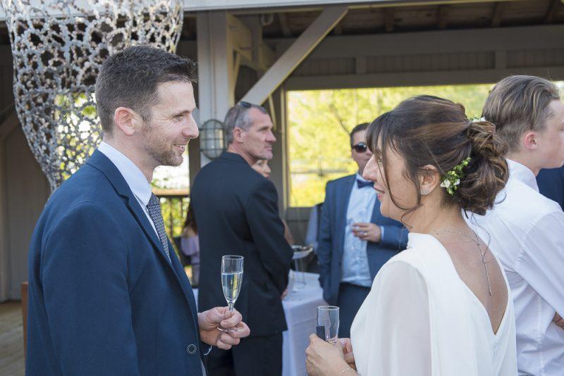 reportage mariage vin d'honneur