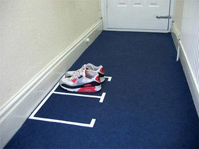 Photo de parking à chaussures