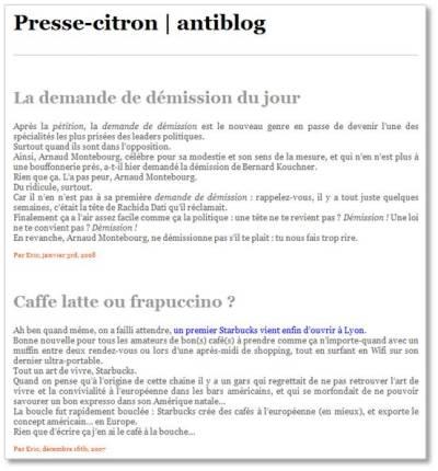 AntiBlog