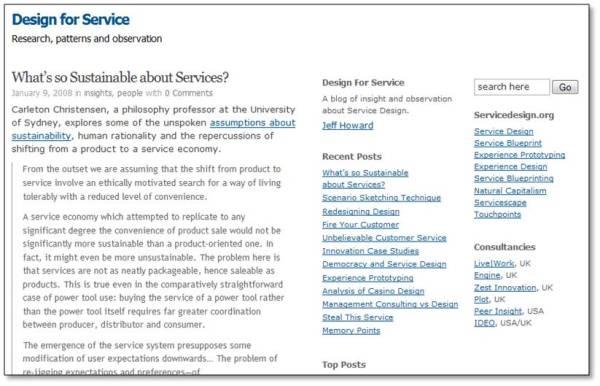 DesignForService
