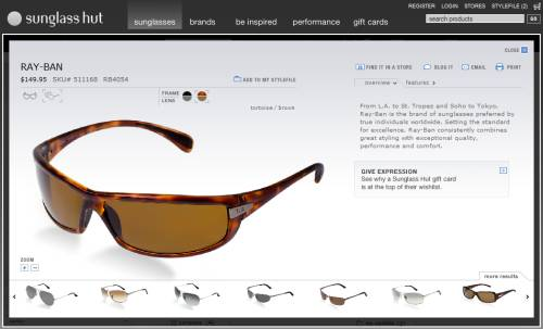 SunglassHut_Product