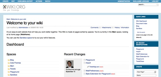 Xwiki_accueil