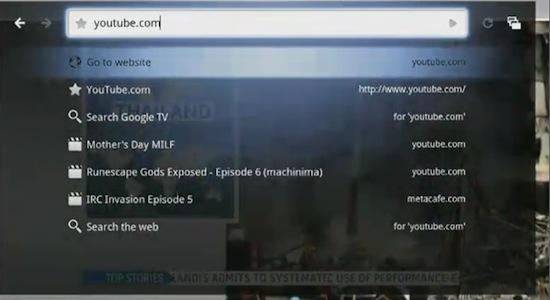 googleTV-search