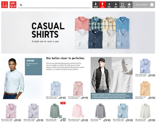 Uniqlo_Category