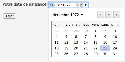 Chrome-date