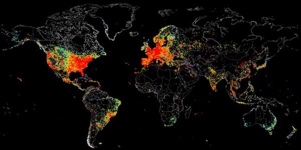 Shodan-IoT-Map