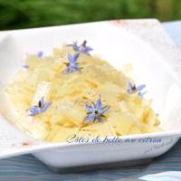 Côtes de bette au citron (sans épluchage).