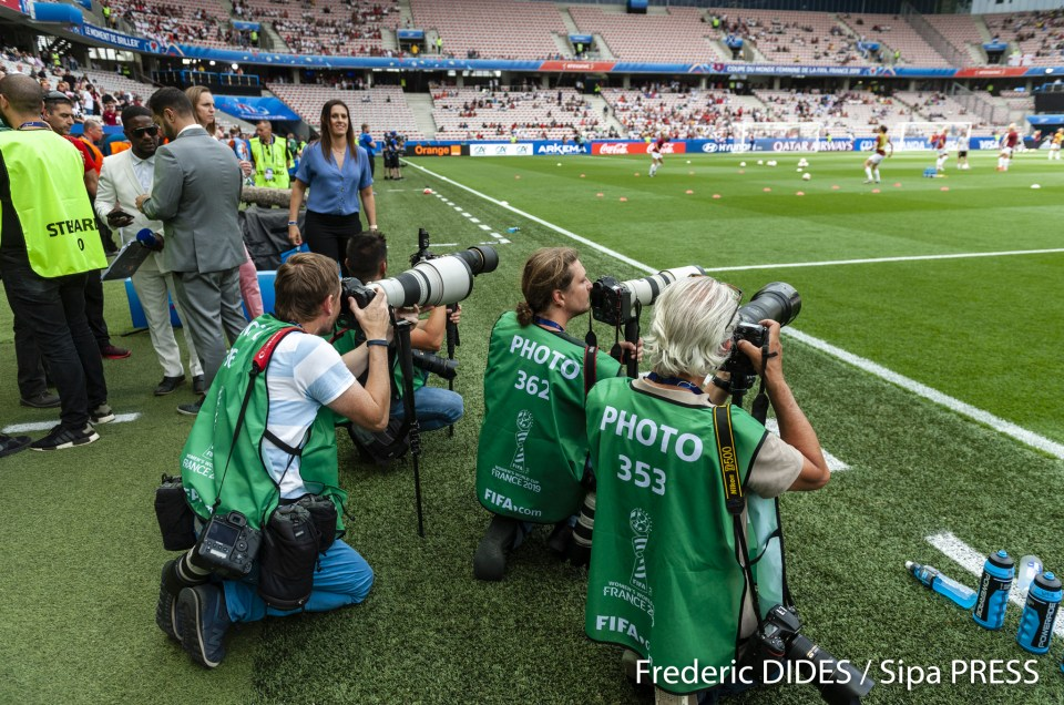 La face cachée de l'iceberg; Quotidien d'un photo-reporter EP 5: Coupe du Monde Féminine de Football 2019 + VIDEO