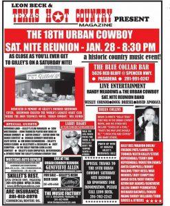 urban cowboy reunion