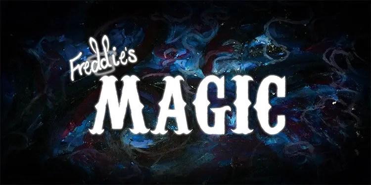 Logo and Gift Card Voucher - Freddie's Magic (www.freddiesmagic.com)