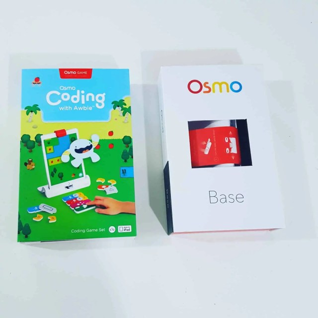 Osmo Base and Coding Awbie Review. Play Osmo games review