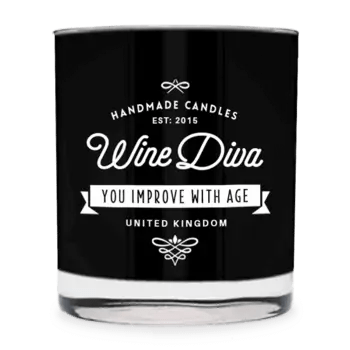 Wine Diva Scented Candle