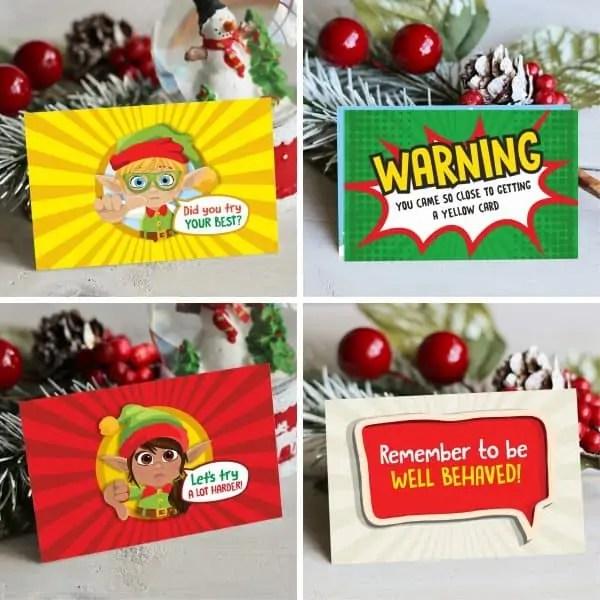 Elf Behaviour Cards