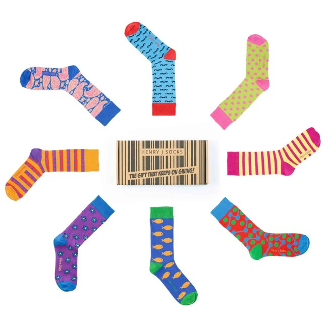 Henry J Socks Subscription Box