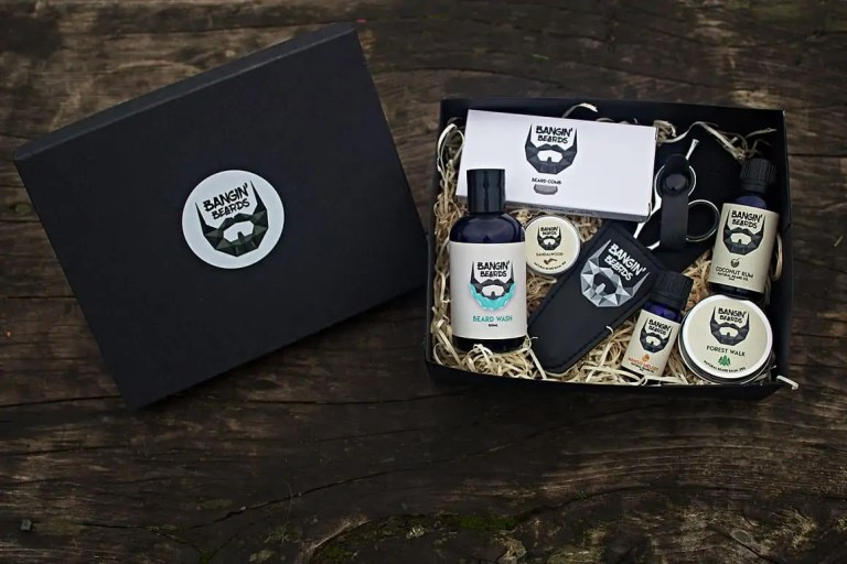 Bangin Beards Large Gift Box featured in this Father's Day Gift Guide