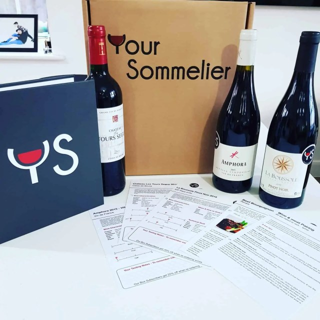 Your Sommelier Wine Subscription Box