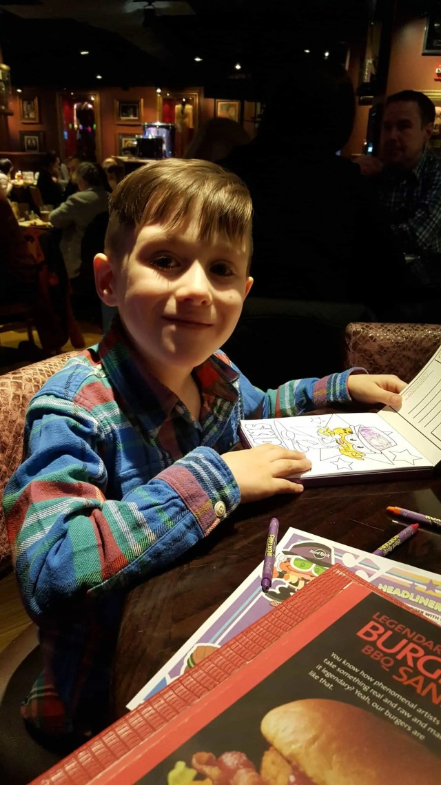 Dinner at the Hard Rock Cafe New York