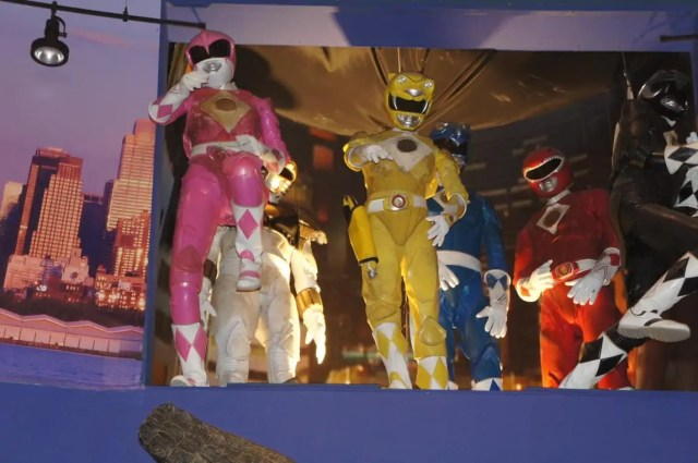 Planet Hollywood New York Power Rangers