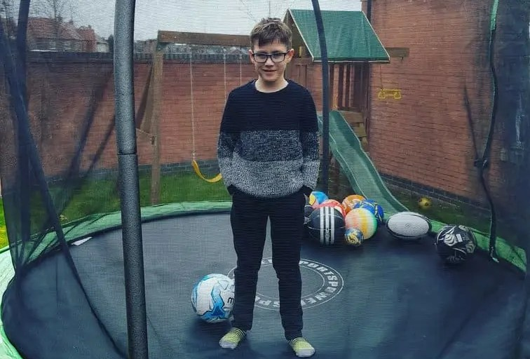 Bouncing on a trampoline has so many health benefits. #trampoline #rebound #health