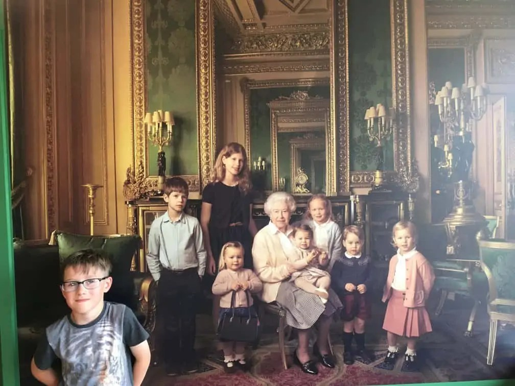 Queens Grandchildren