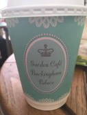 Tea with the Queen at Garden Cafe Buckingham Palace