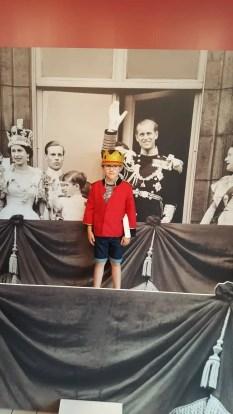 Prince Freddie at Buckingham Palace