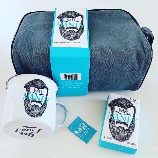 Mr Manly The Somerset Toiletry Company featured in this Father's Day Gift Guide