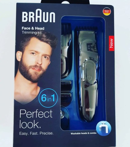 Braun Face and Haed Trimming Kit
