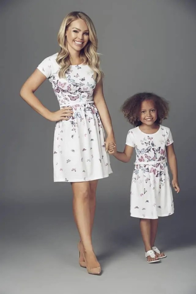 Mother and Daughter Matching Outfits from Katie Piper