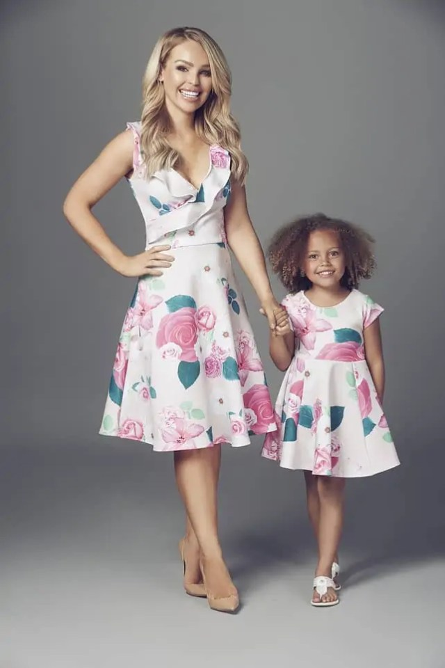 Mother and Daughter Matching Dresses