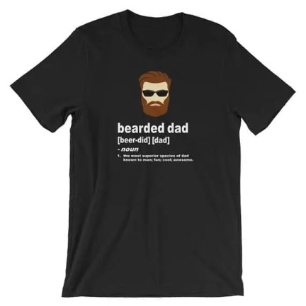 Bearded Dad Tshirt