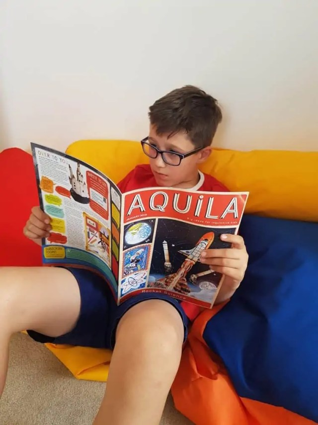 Aquila Magazine Subscription for kids