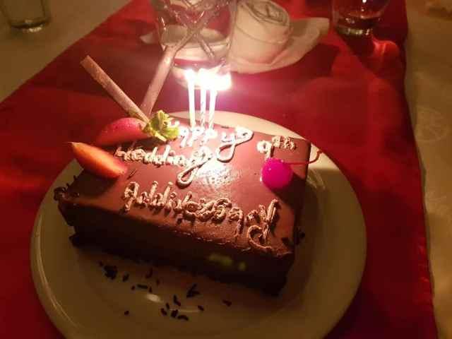 Tamassa Resort, Mauritius Celebration of Life Anniversary Cake