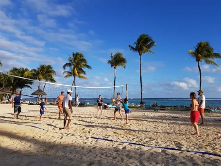 Tamassa Resort, Mauritius Beach Volley Ball
