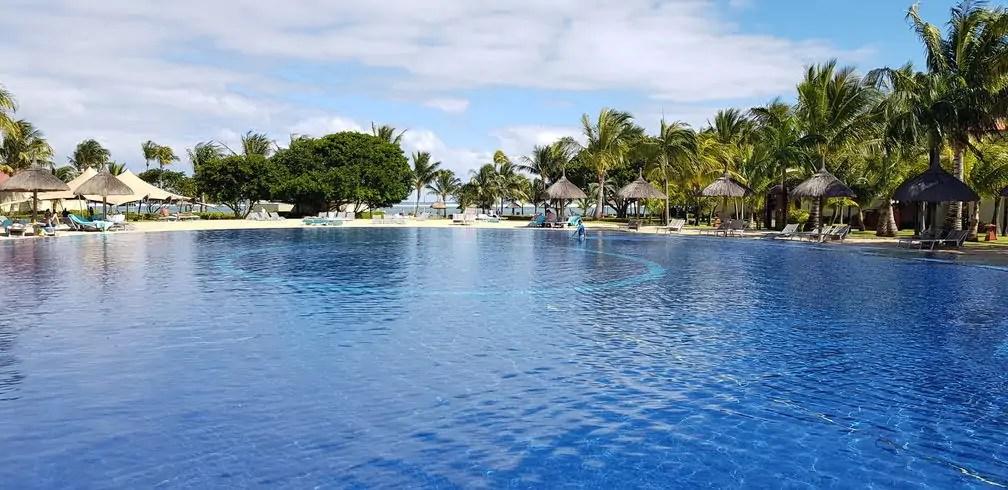 Tamassa Resort, Mauritius swimming pool