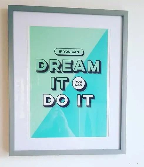 Homeschool Room - Motivational Posters #homeed #homeschool