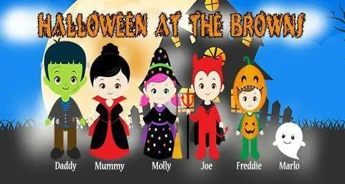 Halloween at the Browns