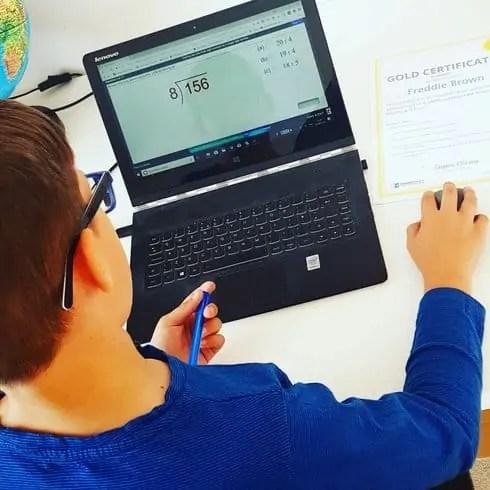 Freddie using Exemplar Education