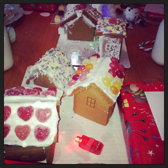 North Pole Breakfast Ginger Bread House