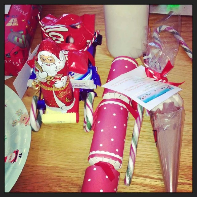 North Pole Breakfast Table Decorations