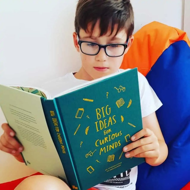 Big Ideas for Curious Minds by The School of Life - philosophy books for children