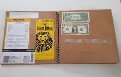 Scrapbooking with Kids - Money