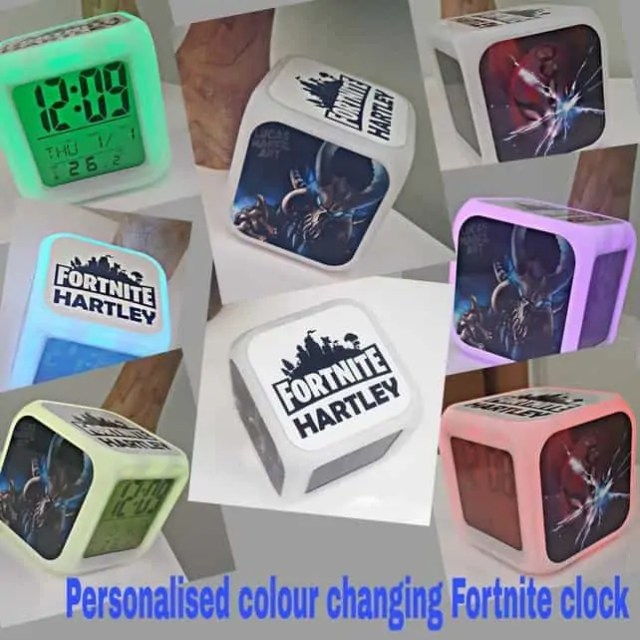 Christmas Gifts for 9 Year Old Boys - Fortnite Alarm Clock