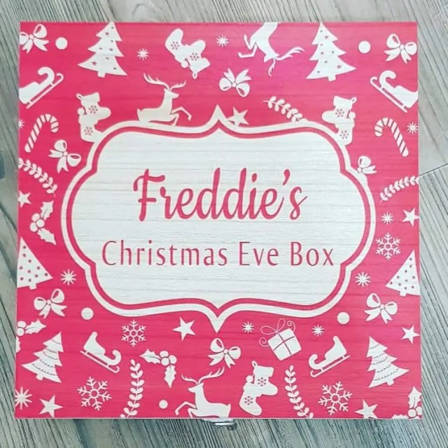 Personalised Christmas Eve Box - christmas eve box ideas for 9 year old boy