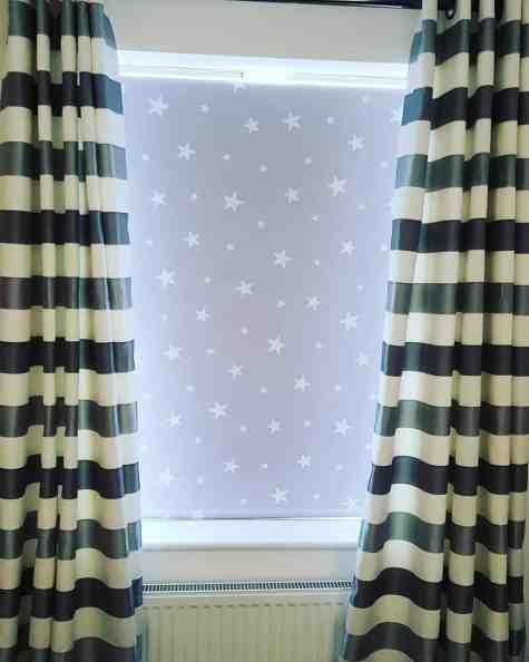 English Blinds blackout blinds for gaming room