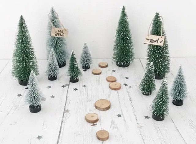 Miniature Christmas Trees