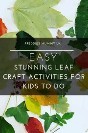 Easy Stunning Leaf Craft Activities For Kids To Do