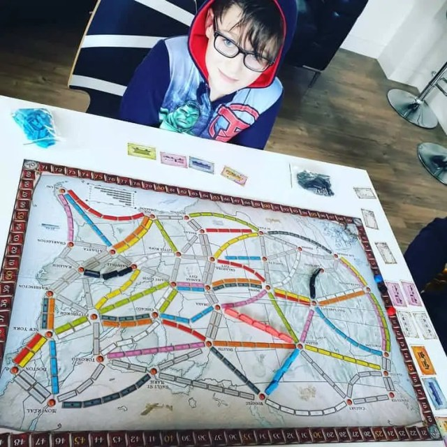 Playing Ticket to Ride