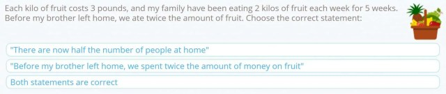 Example Questions from Smartick