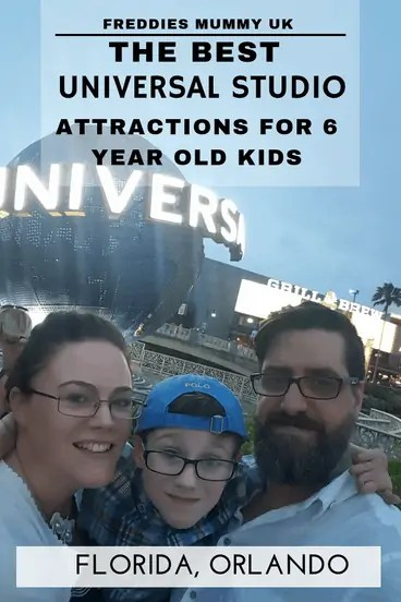 The best Universal Studios attractions for 6 year old kids#universal #universalstudios #florida #orlando